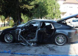 Zapaljeno Auto Travnik