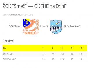 """Screenshot 2019 10 20 Žok """"smeč"""" — Ok """"he Na Drini"""" – OdbojkaŠki Savez Bih"""