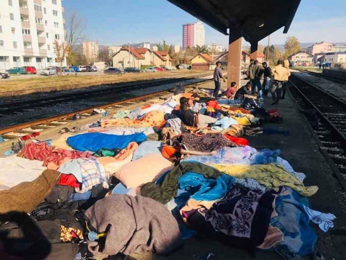 Tuzla Migranti 1