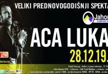 Aca Lukas Koncert Dec 2019