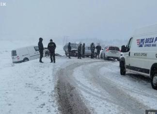 Screenshot 2020 02 05 Teška Saobraćajna Nesreća Na Romaniji, Saobraćaj Potpuno Obustavljen