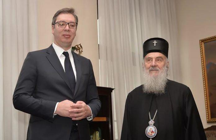 Patrijarh Irinej Aleksandar Vučić