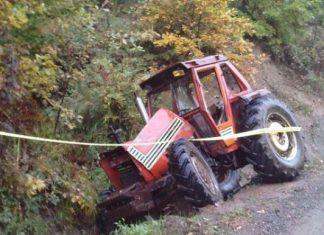 Traktor Nesreca