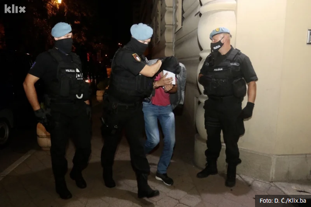Screenshot 2020 08 13 Uhapšen Još Jedan Policajac U Sarajevu, Osumnjičen Za Odavanje Službene Tajne