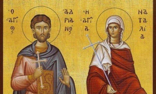 Sveti Mucenici Adrijan I Natalija