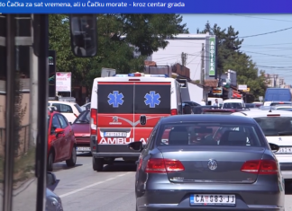 Screenshot 2019 08 21 Od Obrenovca Do Čačka Za Sat Vremena, Ali U Čačku Morate Kroz Centar Grada